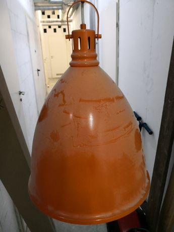 Lampa wiszaca pomaranczowa