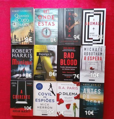 45 livros a estrear-Policiais/thrillers-Anomalia,rapariga A,Ba Paris