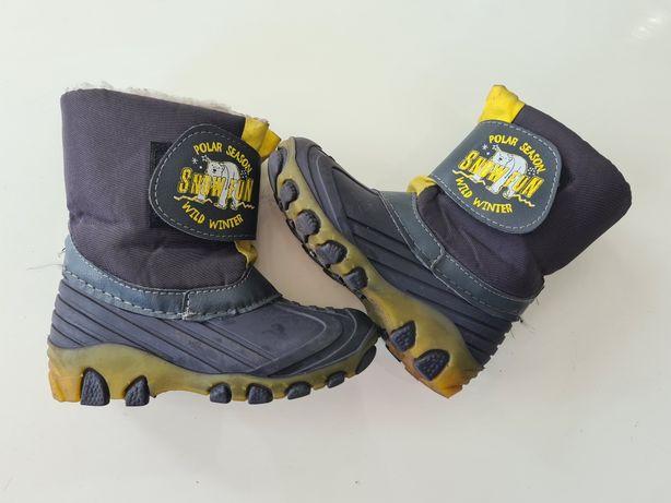 smiegowce buty zimowe 27