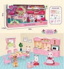 Набор Мебели Для Флоксовых Животных Кухня Happy Family