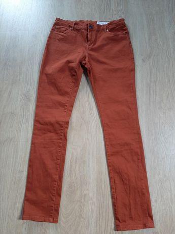 Spodnie rdzawe esmara 40 m-l skinny fit nowe