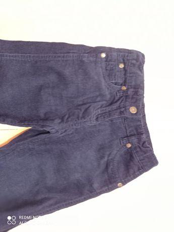 Spodnie sztruksowa 104