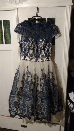 Piękna sukienka Chi Chi London na wesele, rozm. 34, S, stan idealny