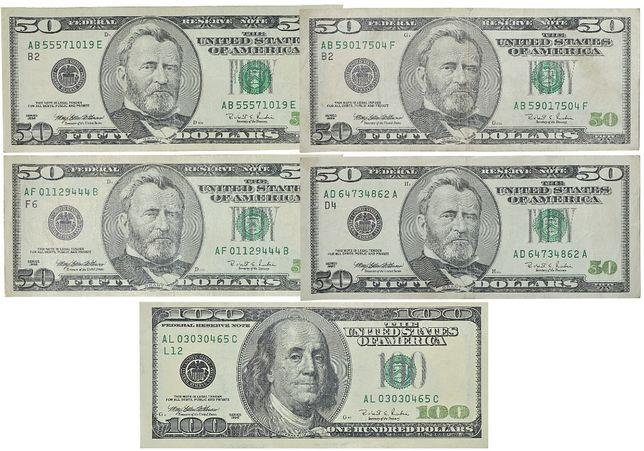 Доллар США 1996 год Купюра Бона Деньги