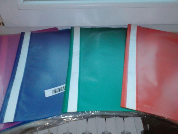 Папки-скоросшиватели для файлов А4 пластиковые.