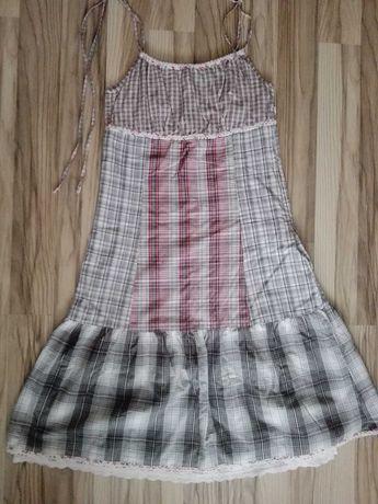 Letnia fajna sukienka, vero moda, rozm. 38