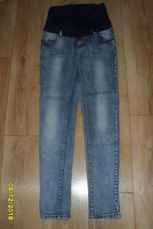 Jeansy ciążowe rozm. 38 M stan bardzo dobry spodnie