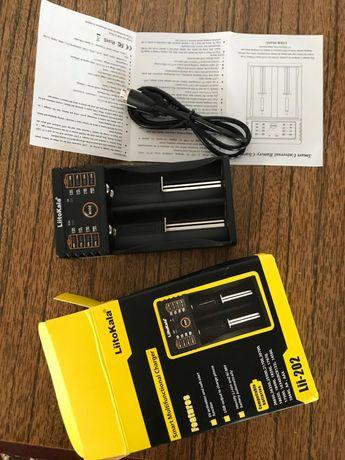 Зарядное Liitokala  202 для батарей 18650