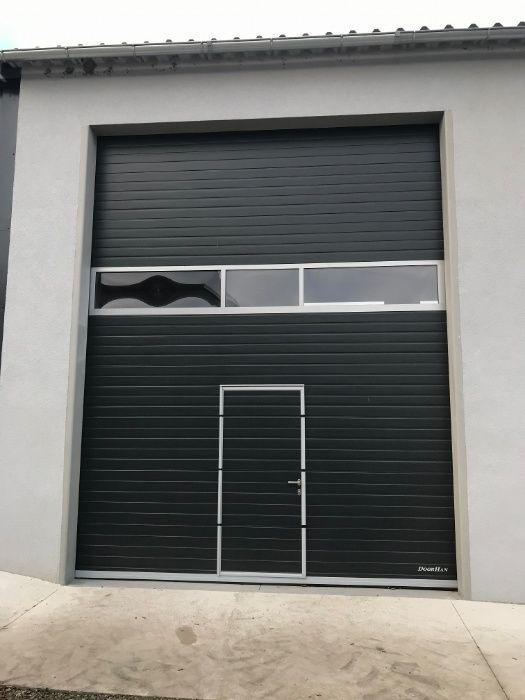 Brama segmentowa przemysłowa i garazowa. Koźle - image 1