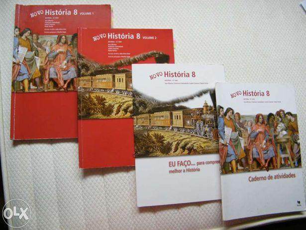 Livros Escolares História 8º Ano