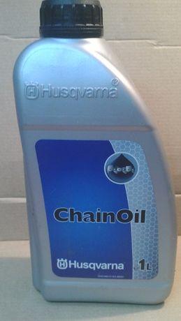 Минеральное масло для смазки цепи бензопилы Husqvarna ChainOil, 1 л