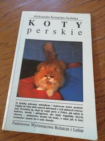Książka Koty Perskie