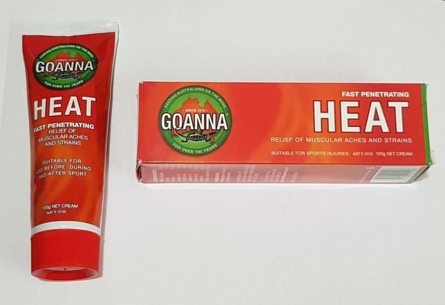 Maść krem z Australii Goanna Heat 100g. Bóle mięśni lumbago reumatyzm
