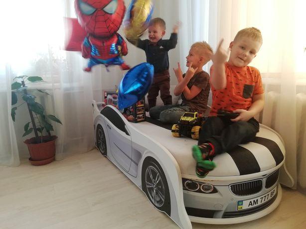 Кровать машина,машинка+Бесплатно доставка по Украине!