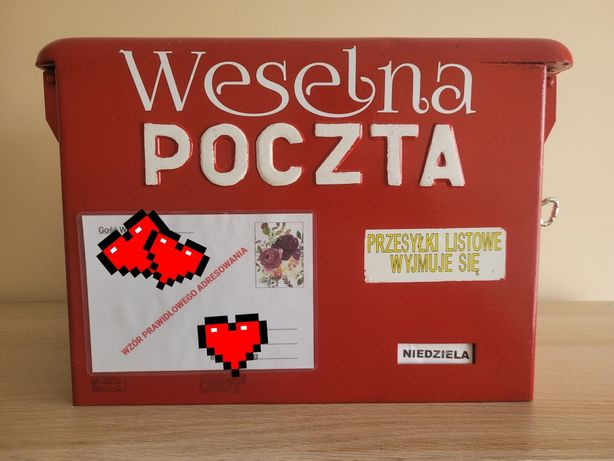 Skrzynka/Poczta Weselna