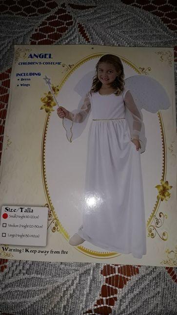 Struj karnawałowy aniołek.