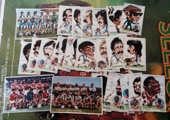 Cromos Arte e Futebol - Mabilgrafica (recuperados)