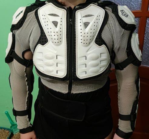 Моточерепаха (оригінал) FOX Titan Sport Jacket white 10050 S Черепаха