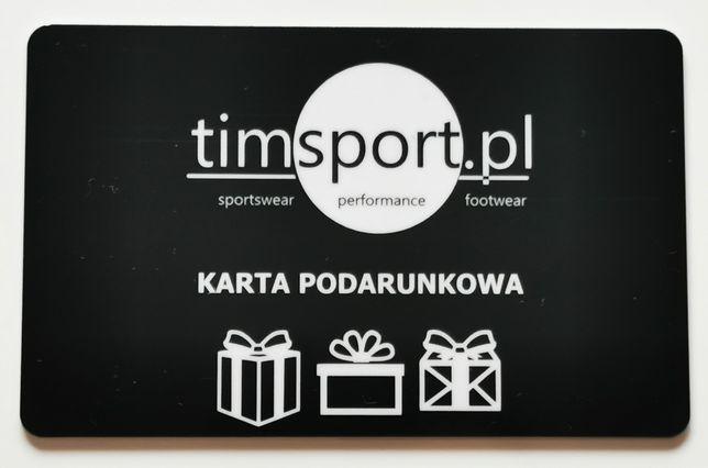 Karty podarunkowe 450zł sklepy sportowe timsport