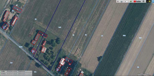 8,73 HA  Ziemia rolna/ Siedlisko/Kobyla Miejska/ Szadek/ Zduńska Wola