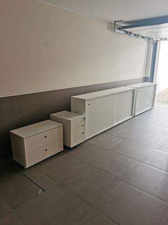 Mobiliário escritório em lacado branco