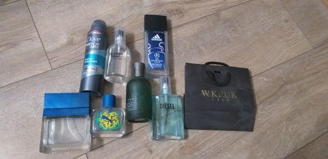 Perfumy zestaw Puma ADIDAS ZARA DIESEL GUESS DOVE wszystko za 150 zł