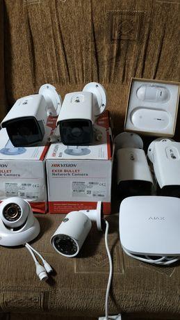 Камеры, установка, настройка под ключ, Hikvision