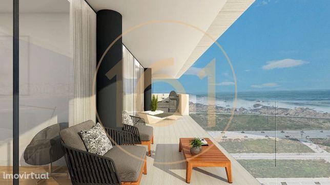 Apartamentos T4 com varanda em resort urbano na margem sul da Foz d...