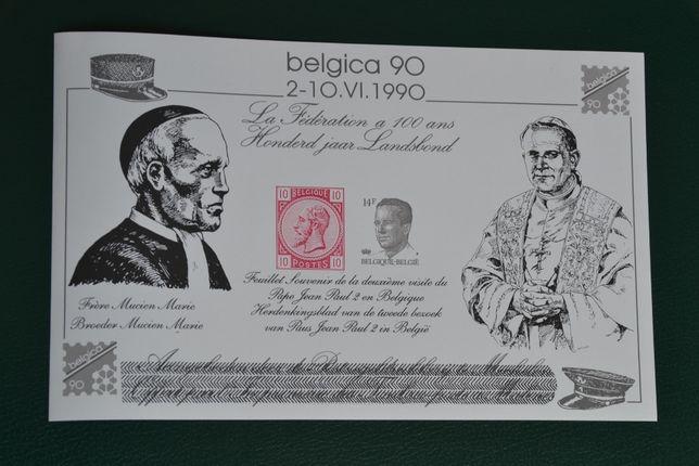 Znaczki. Belgia. Papież Jan Paweł II ** ZESTAW !!!