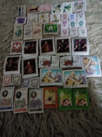 Znaczki pocztowe różne mix