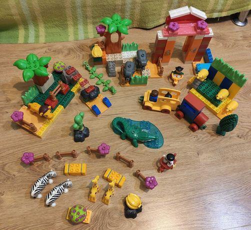 Jdlt конструктор зоопарк аналог Lego Duplo 171 деталь