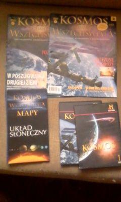 Kosmos Tajemnice Wszechświata tom 1 i Tom 2 + Mapa + DVD
