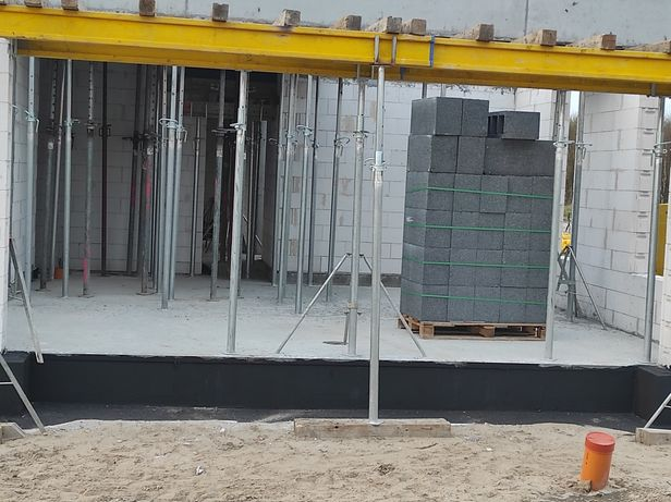 Wypożyczę stemple budowlane regulowane doki korony trójnogi wibratory