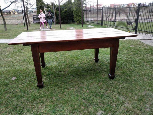 Stół dębowy, nowy