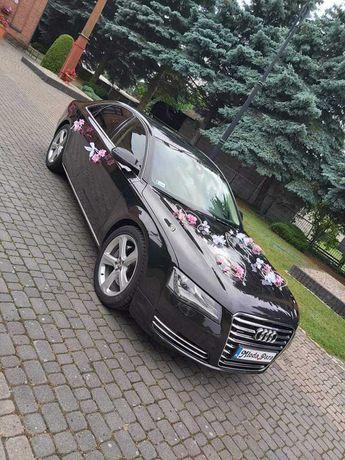 Auto do ślubu Audi A8 siedlce