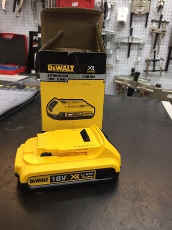 Bateria carril XR 18V Li-Ion 2,0Ah DeWALT DCB183