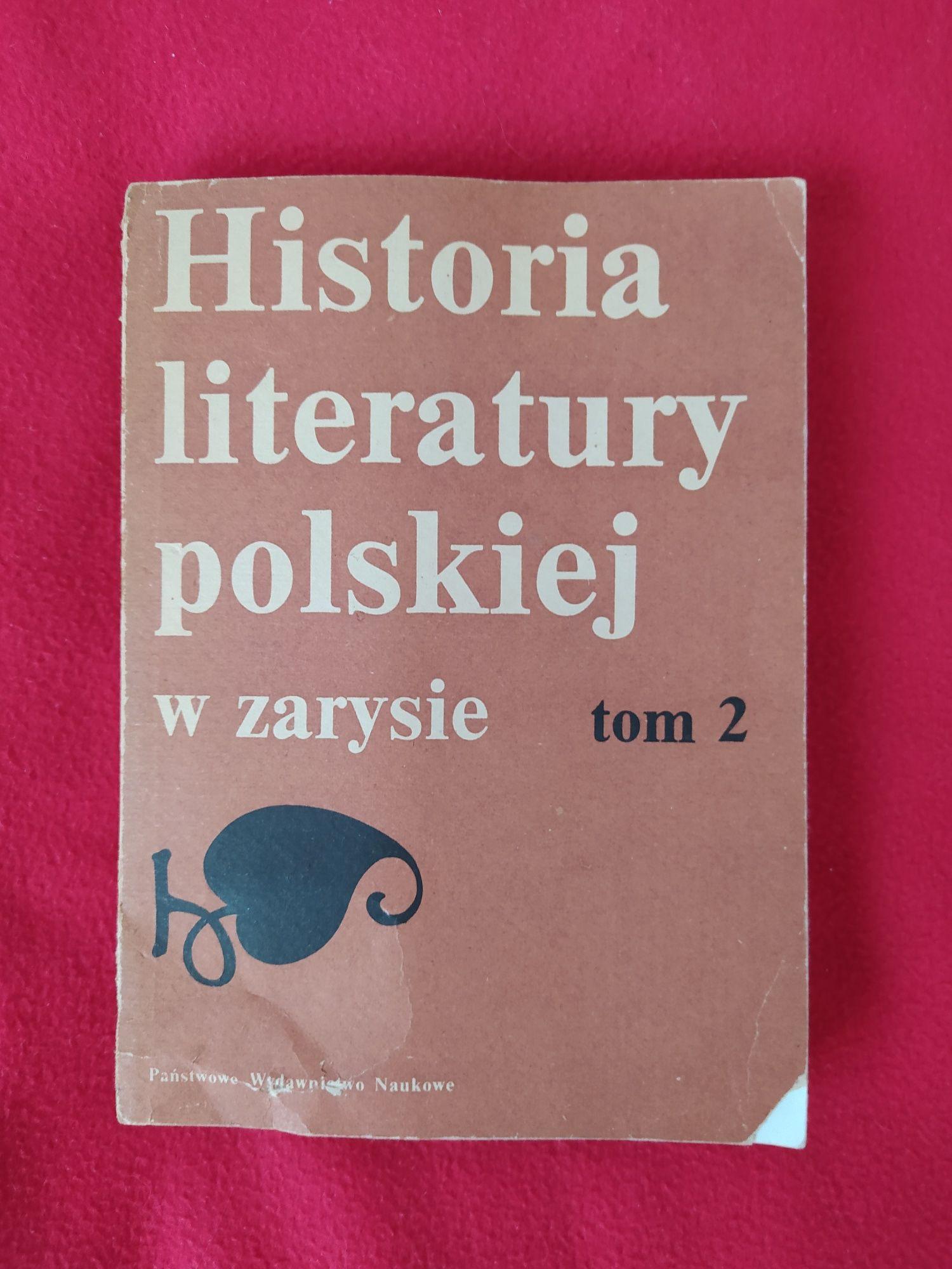 """""""Historia literatury polskiej w zarysie"""" tom 2"""