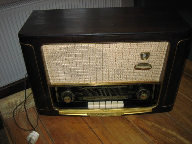 Radio lampowe GRUNDIG 4023 Sprawne