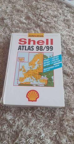 Shell atlas, mapa 98/99