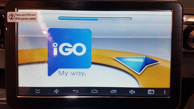 """GPS Навигатор Android 7"""" с картами iGO Primo для грузовых автомобилей"""