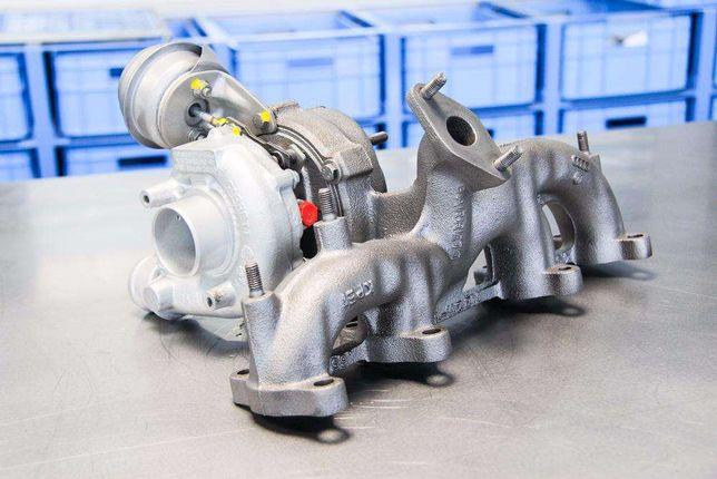 Turbosprężarka 2.0 Tdi 136 140km Regeneracja Vw A3 Golf V Passat B6 To