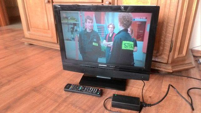 "Grundig tv 20"" LCD Hdmi USB DVD SD-card 12V"
