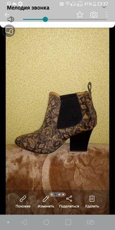 Демисезон ботиночки, натуральная кожа