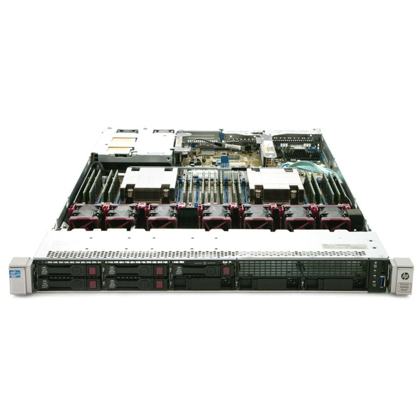 HPE Proliant DL360 G9 SFF   24 x vCPUs e 32GB DDR4 RAM   2400GB HDD