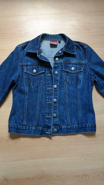 состояние НОВОЙ р.139-145 Джинсовка Trader куртка джинсовая пиджак