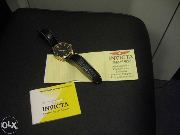 Vendo relógio INVICTA Praticamente sem uso – Como Novo