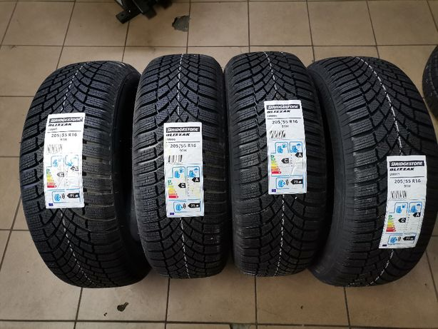 205/55R16 91H Bridgestone BLIZZAK LM005 20rok Nowe Zima