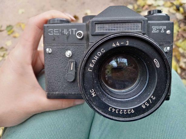 Фотоапарат Зенит Геліос 44-3, раритет