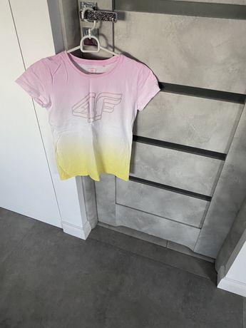4fdwie bluzki t-shirt rozm 152
