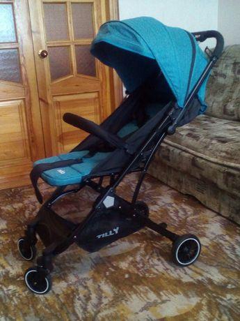 Детская коляска новая и шезлонг-качлка б/у
